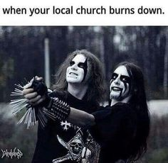 Image result for bubble gum singers vs. blackmetal memes