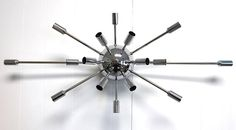 Sputnik sconce - $295 w/ bulbs - Practical Props in CA - Carries many varieties of Sputnik lamps + exclusive sconces