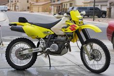 My suzuki drz400e enduro street legal dirt bike