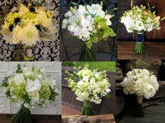 white bouquet inspiration