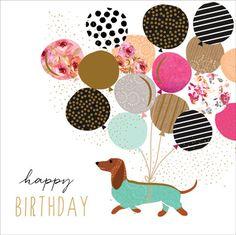 Happy Birthday [sausage dog]…Portfolio