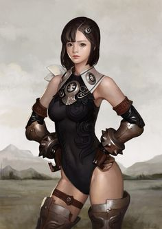 【Animation, Comic & Character Design PIctures】 (www. Female Character Design, Comic Character, Character Concept, Kim Bum, Female Characters, Fantasy Characters, Model Photoshop, Manga Anime, Girl Anatomy
