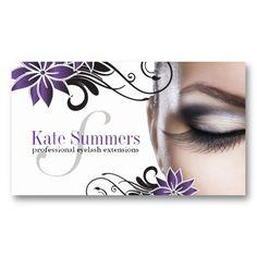 18 best eyelash extension business cards images on pinterest eyelash extensions lash extensions and eyelashes - Eyelash Business Cards