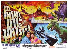 The Land That Time Forgot, 1975 (Thai Film Poster)