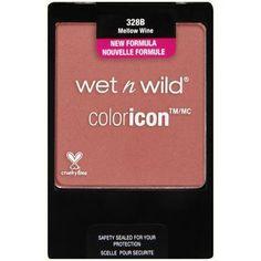 Wet N Wild Color Icon Blush, 328B Blush Mellow Wine Wet '...