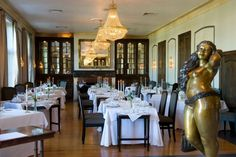 Enjoy fine dining at the Grande Roche hotel in Paarl in the Cape Winelands, Cape Town