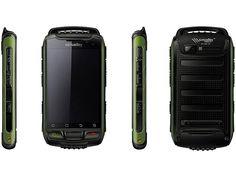 simvalley MOBILE Dual SIM Outdoor Smartphone SPT 800 3G, tarngrün