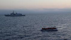 Offerte di lavoro Palermo  Riprendono le traversate della speranza i mezzi di Frontex all'opera  #annuncio #pagato #jobs #Italia #Sicilia Soccorsi 2800 migranti nel Canale di Sicilia: sbarchi a Trapani Messina e Augusta