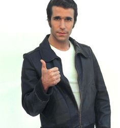 Happy Days Leather Jacket Worn by  Fonzie From Fjackets.com