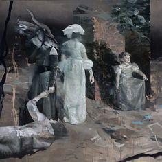 Lars Elling 'Infanta II', 2015, oil on canvas