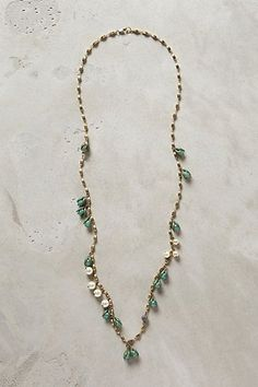 Anthropologie Pearl Necklace | Pearled Franja Strand - anthropologie.com | Jewelry ...