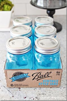 Ball has introduced new limited edition commemorating the 100th anniversary of the Ball Perfect Mason Jar. You can find these at stores such as Target, Walmart, etc.