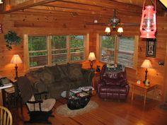 Smoky Mountain Cabin Living Smokey Mountain Cabins, Valance Curtains, Live, House, Home Decor, Decoration Home, Home, Room Decor, Home Interior Design