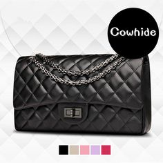 Find More Shoulder Bags Information about Fashion classic women handbags genuine leather cowhide diamond lattice chain bag handbag shoulder bag Messenger bags crossbody,High Quality bag purple,China bag family Suppliers, Cheap bag from Amazing Lisa on Aliexpress.com