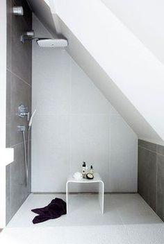 Douche l 39 italienne sous combles montrez nous votre douche l 39 i - Creer une piece en plus ...