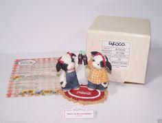 Mary's Moo Moo Special Show Edition  Friendship Girls Toasting Enesco Coke