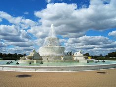 Scott Fountain Detroit Michigan  Belle Isle fountain.  Spent many a day there, in that park. Beautiful little island.
