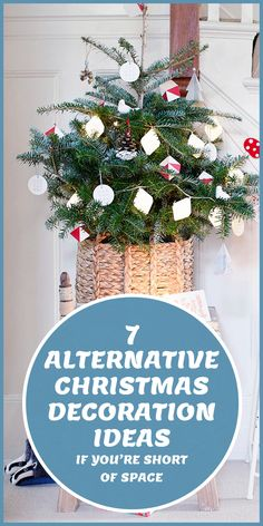 Bring Christmas cheer to every room – no matter how smal!