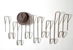 Wire coat rack
