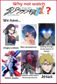Dank Anime Memes, 150 Pokemon, Blue Strawberry, Are You Not Entertained, Anime Love Couple, Darling In The Franxx, Manga, Anime Comics, Offensive Memes