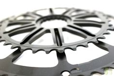 Cannondale SpideRing Road Chainring Mid Compact - Cannondale's new SpideRing is a one-piece combination of spider and chainring, improving chainring stiffness that improves shifting performance. Compact
