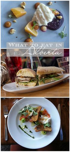 Our top choices for places to eat in Alberta, Canada!