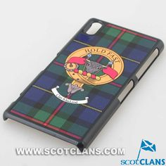 MacLeod Clan Crest Sony Phone Cover
