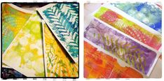 """""""Every Life Has a Story!"""" - {Roben-Marie Smith} - Gelli Arts VideoTutorial..."""