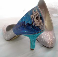 My wedding Cinderella shoes