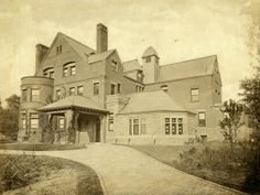 H. Clay Pierce Residence at 40 Vandeventer Place before being razed. Built 1886, razed 1936.