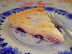 Low Carb Rezepte: Low Carb-Quarkkuchen mit Früchten