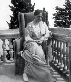Empress Alexandra at Livadia.