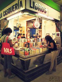 * La Casquería (Libros al peso en el Mercado de San Fernando - Madrid) *