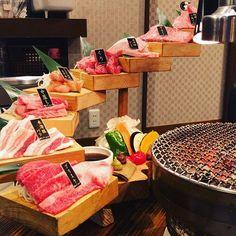 昨日は誕生日のお祝いってことで。 #肉#山形牛#米澤豚#焼き肉#炭火焼肉#上山#みはらしの丘#meatmeet#ミートミート