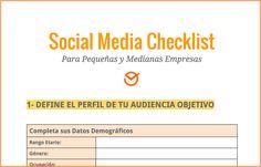 Social Media Checklist Postcron