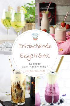 [Werbung unbeauftragt] Leckere Abkühlung - Die besten Eisrezepte zum selber machen - #eis #eisrezept #eisselbermachen #eisgetränk #eiscocktail #eisdrink Cocktail Drinks, Alcoholic Drinks, Ice Ice Baby, Healthy Recipes, Healthy Food, Ice Cream, Yummy Food, Bottle, Glass