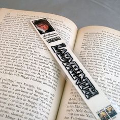 Labyrinth VHS Recycled Bookmark by StalkingMarla on Etsy