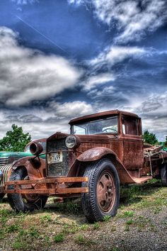 Abandoned Old Cars...