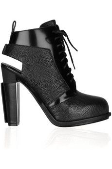 ankle boots, colors, ankl boot, wang boot, heel, alexand wang, alexander wang, cut outs, shoe
