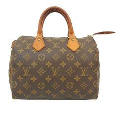 LOUIS VUITTON Monogram SPEEDY 25 Handbag LV Boston Bag Authentic M41528 #LouisVuitton #Handbag
