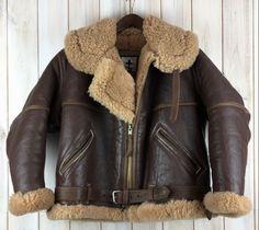 Reproduction RAF Irvin style flight jacket