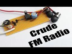 Build your own Crude FM Radio || FM,AM Tutorial - YouTube