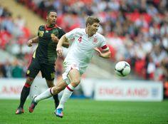 Steven Gerrard's Top 10 England Goals#LFC