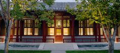 Aman Summer Palace Imperial Suite: three pavilions surround a tranquil private courty