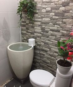 Give a value of for this beautiful bathroom . Pic by . Small Toilet Design, Small Toilet Room, Modern Small House Design, Small Bathroom With Shower, Bathroom Design Small, Bathroom Interior Design, Minimalist Bathroom Design, Home Room Design, Home Decor Furniture