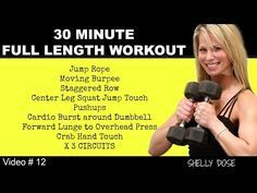 30 Minute Athletic Cardio Strength Home Workout   Dumbbell Workout Full Length - YouTube #cardiohiit