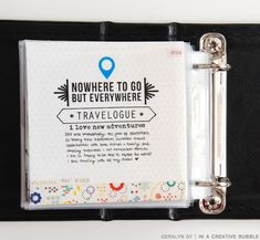 Travel Highlights Mini | In a Creative Bubble