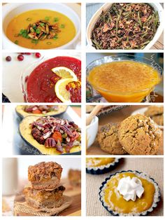 Thanksgiving Roundup 2013_TheHealthyGFLifeNot all paleo, but certainty easy enough to adapt!