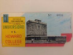 1954 boleto que encontré en las chácharas; que cosas guardamos