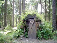 Swedish forest hut- I think I might want one.